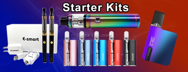 SmokTek.com Starter E-Cig Kits for Beginning Vapers