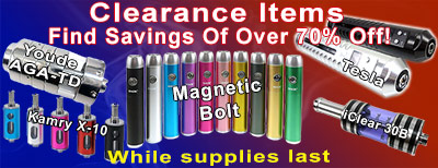 Save big bucks on SmokTek clearance items!