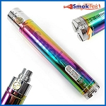GS EGO II Twist Variable Voltage 2200mAh Battery - Rainbow