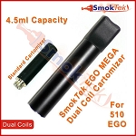 510 Ego Mega Dual Coil Cartomizer - 1.5 ohm, 4.5ml