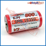 Efest IMR18350 800mAh 3.7V LiMn battery - button top