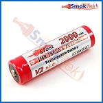 Efest IMR18650 2000mAh 3.7V LiMn battery - button top