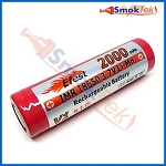 Efest IMR18650 2000mAh 3.7V LiMn battery - flat top