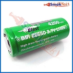 Efest IMR 26650 4200mAh 3.7V 20A High Drain Battery - Flat Top (single)