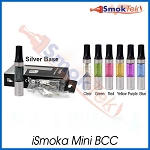 iSmoka Mini BCC (bottom coil clearomizer), 1.6 ml  Silver