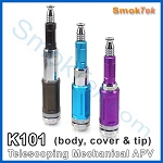 Kamry K101 Telescoping Mechanical Mod - body, cover, tip