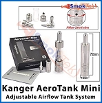 Kanger AeroTank Mini, 1.3 ml Bottom Dual Coil, Pyrex (with airflow control)