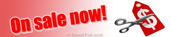 Electronic Cigarettes, APV's, Accessories always on sale at SmokTek.com!