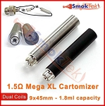 Mega XL 1.5 ohm dual coil cartomizer