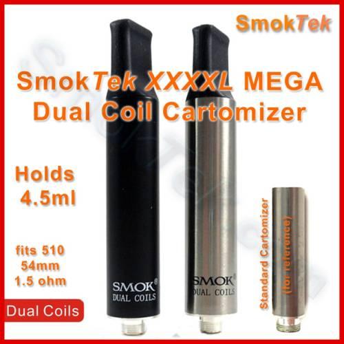 ... Cartomizer » Smoktech Dual Coil Cartomizer » Smoktech Tank Dual Coil