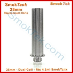 Dual Coil 35mm Tank Cartomizer for the 4.5ml SmokTank