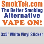 FREE SmokTek Vape-On Sticker