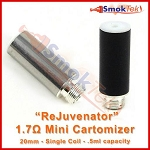 ReJuvenator Mini 1.7 ohm low resistance cartomizer