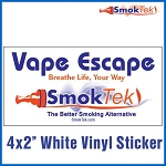 FREE SmokTek Vape Escape Sticker #1