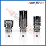 Wide Bore Stainless Steel 510 Drip Tip