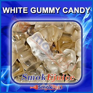 White Gummy Candy SmokEjuice, Premium Natural E-Liquid