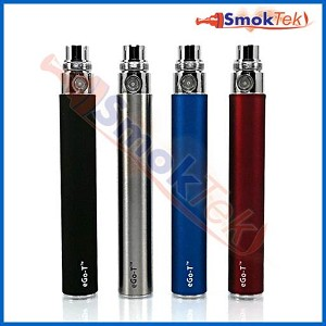SmokTek 1100mAh eGo battery - with 5 click On/Off