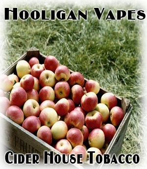Cider House Tobacco Juice - by Hooligan Vapes