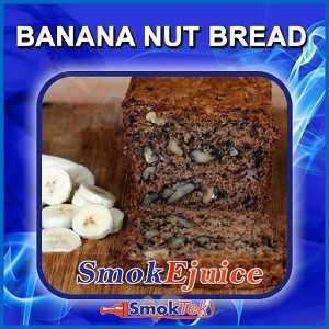 Banana Nut Bread SmokEjuice, Premium Natural E-Liquid