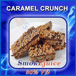 Caramel Crunch SmokEjuice, 80% VG Premium Natural E-Liquid