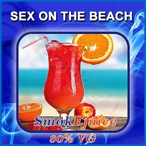 Sex on the Beach SmokEjuice, 80% VG Premium Natural E-Liquid