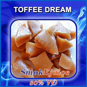 Toffee Dream SmokEjuice, 80% VG Premium Natural E-Liquid