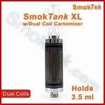 SmokTank XL - 3.5ml Smoke/Chrome Dual Coil Cartomizer Tank