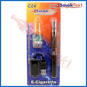 Express eGo CE4 650 E-Cigarette Kit with 10ml Menthol E-Liquid