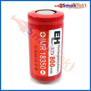 EH IMR18350 800mAh 3.7V LiMn battery