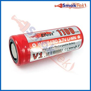 Efest IMR18490 1100mAh 3.7V Flat Top LiMn battery