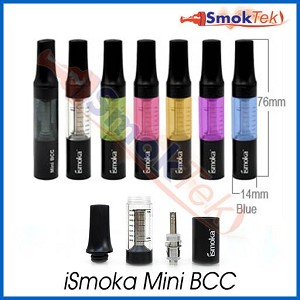 DISCONTINUED iSmoka Mini BCC (bottom coil clearomizer), 1.6 ml