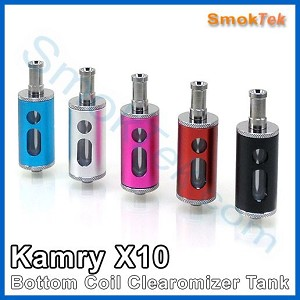 Kamry X10 Bottom Coil Clearomizer Tank (BCC), 4ml