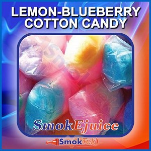 Lemon-Blueberry Cotton Candy SmokEjuice, Premium Natural E-Liquid