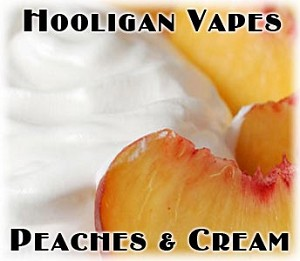 Peaches & Cream Juice - by Hooligan Vapes