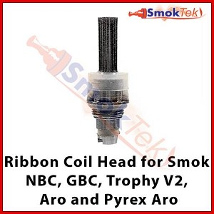 Smok Replacement Ribbon Bottom Coil Head, 1.7 ohm