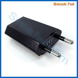 Slim European (EU) USB Wall Adapter - 500mA output