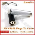 Mega XL 1.5 ohm dual coil cartomizer for KR808