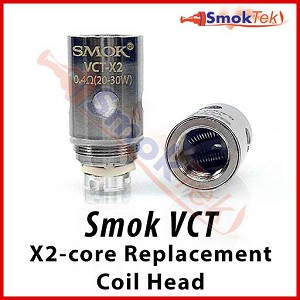 Smok VCT X2 Sub Ohm Dual Coil Replacement Head