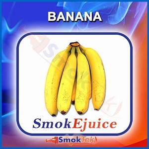 Banana SmokEjuice, Premium Natural E-Liquid