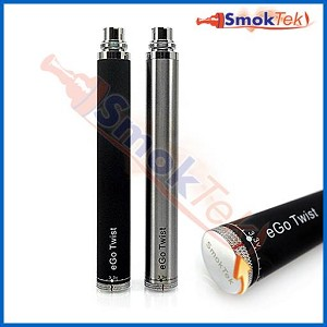 SmokTek Automatic Twist Variable Voltage 650mAh eGo Battery