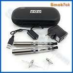 SmokTek eGo 650 CE4-Changeable Coil Clearomizer E-Cigarette Kit with carry case