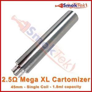 Mega XL 2.5 ohm cartomizer