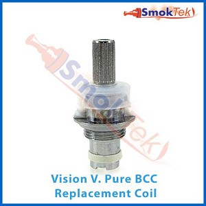 Replacement Coil Head for the Vision V. Pure BCC Clearomizer