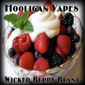 Wicked Berry Blast Juice - by Hooligan Vapes