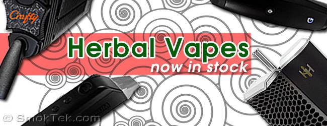 Herbal Vapes now in Stock at SmokTek