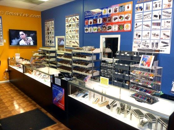 SmokTek Retail Store - Pinellas Park, Florida 727-697-7316