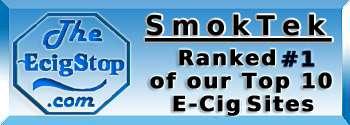 TheEcigStop.com rates Smoktek.com #1 E-Cig Site!