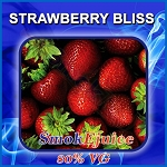 Strawberry Bliss SmokEjuice, 80% VG Premium Natural E-Liquid