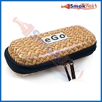 eGo Carry Case - Woven Wood Pattern