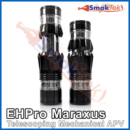 EHPro Maraxus Telescoping Mechanical Mod - Black